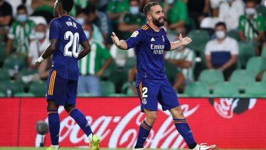 Дани Карвахал качи Реал временно на върха в Ла Лига