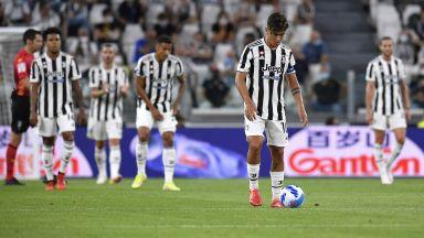 Ерата след Роналдо започна катастрофално за Ювентус