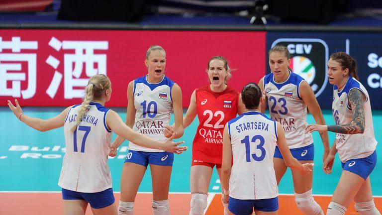 Италия и Русия оформиха последната четвъртфинална двойка на Евроволей