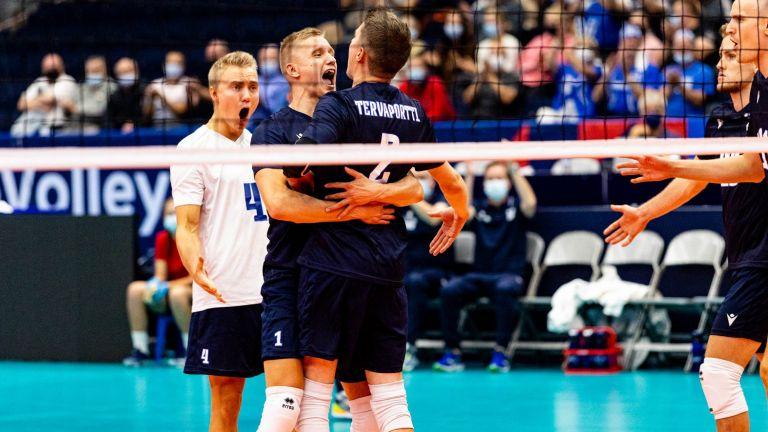 Домакинът Финландия победи Северна Македония на старта на Евроволей
