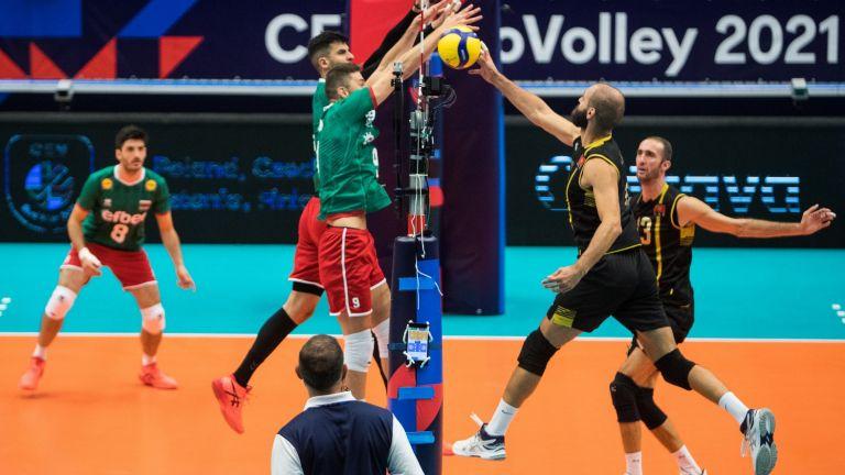 Перфектен старт за България на Евроволей 2021