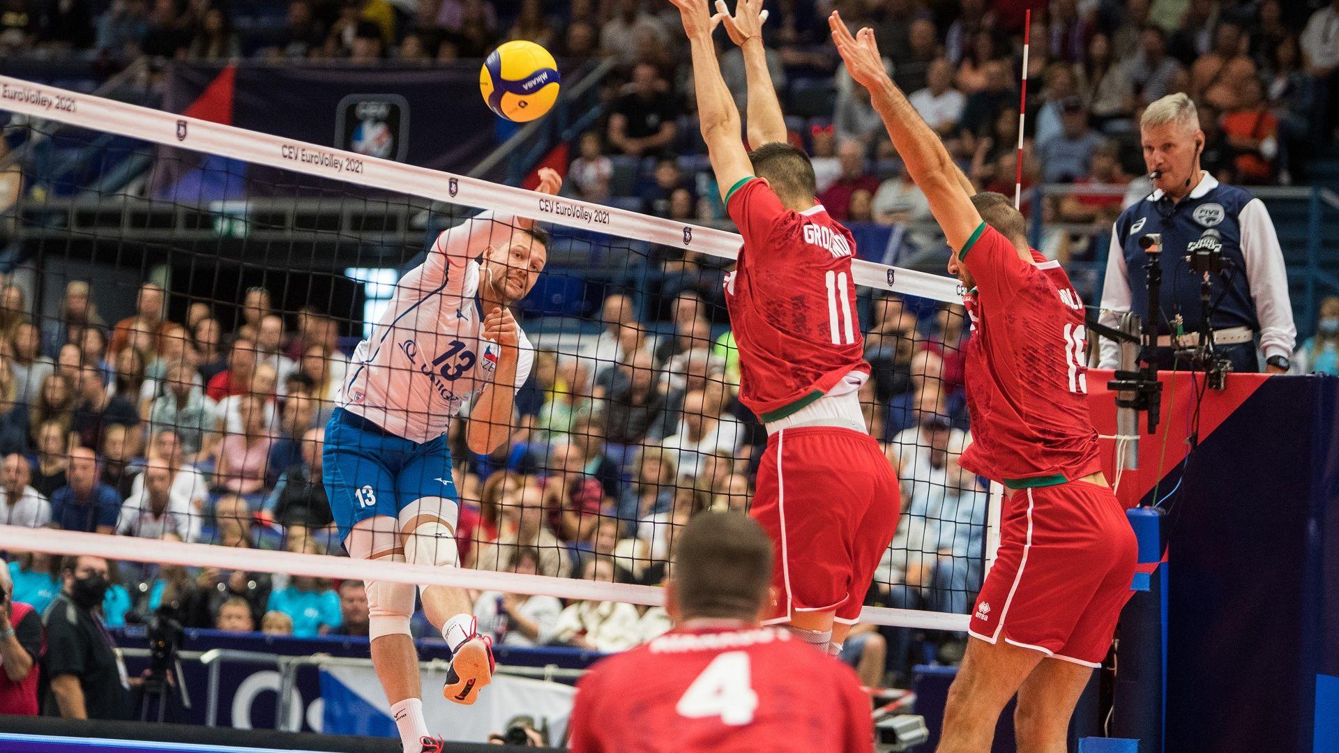 България срази Чехия в страхотна драма на Евроволей