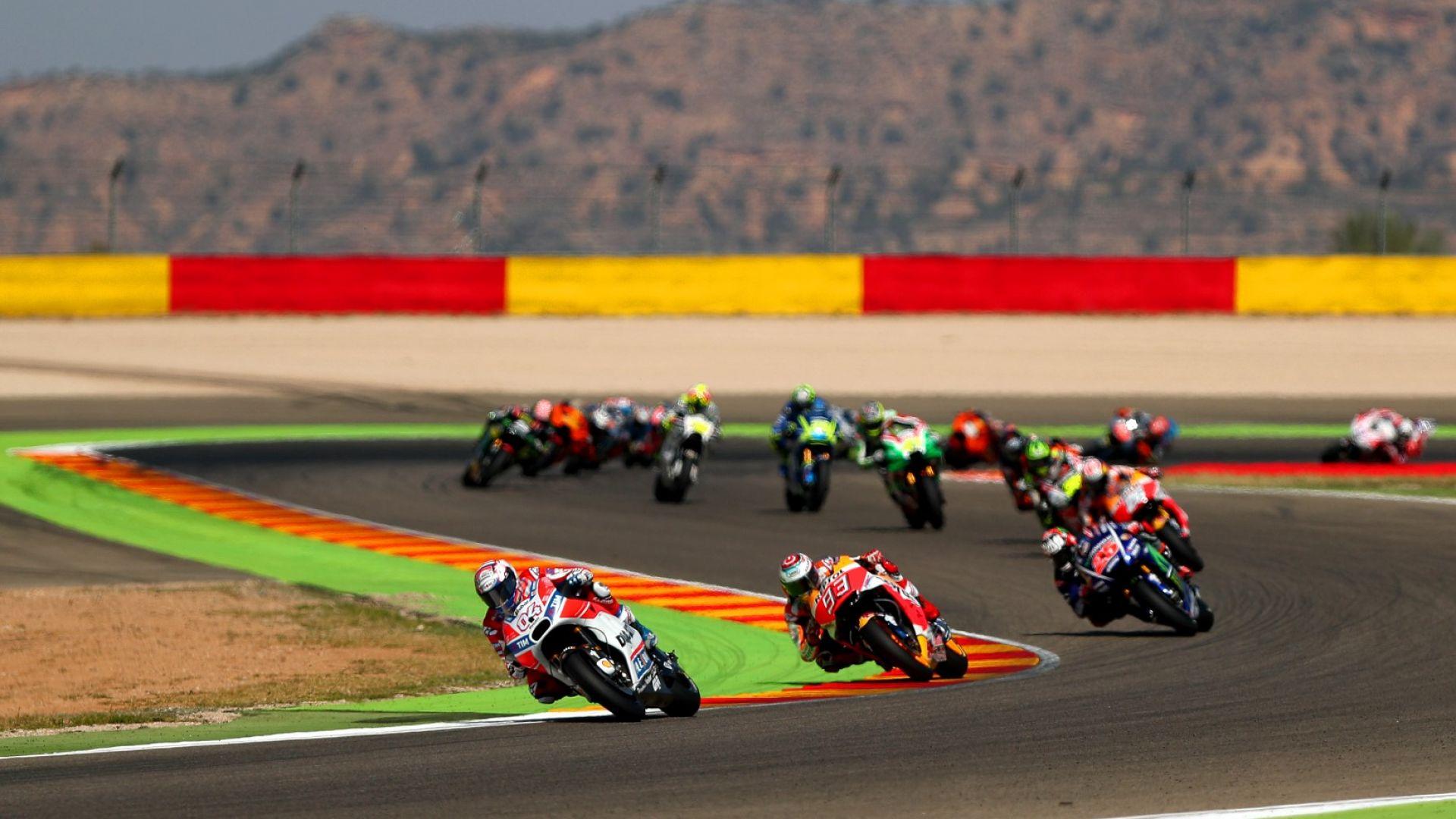 Направете една обиколка по пистата в Арагон преди неделния старт в Moto GP (Видео)