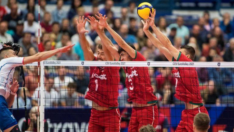 България е на осминафинал на Евроволей след успех над Беларус