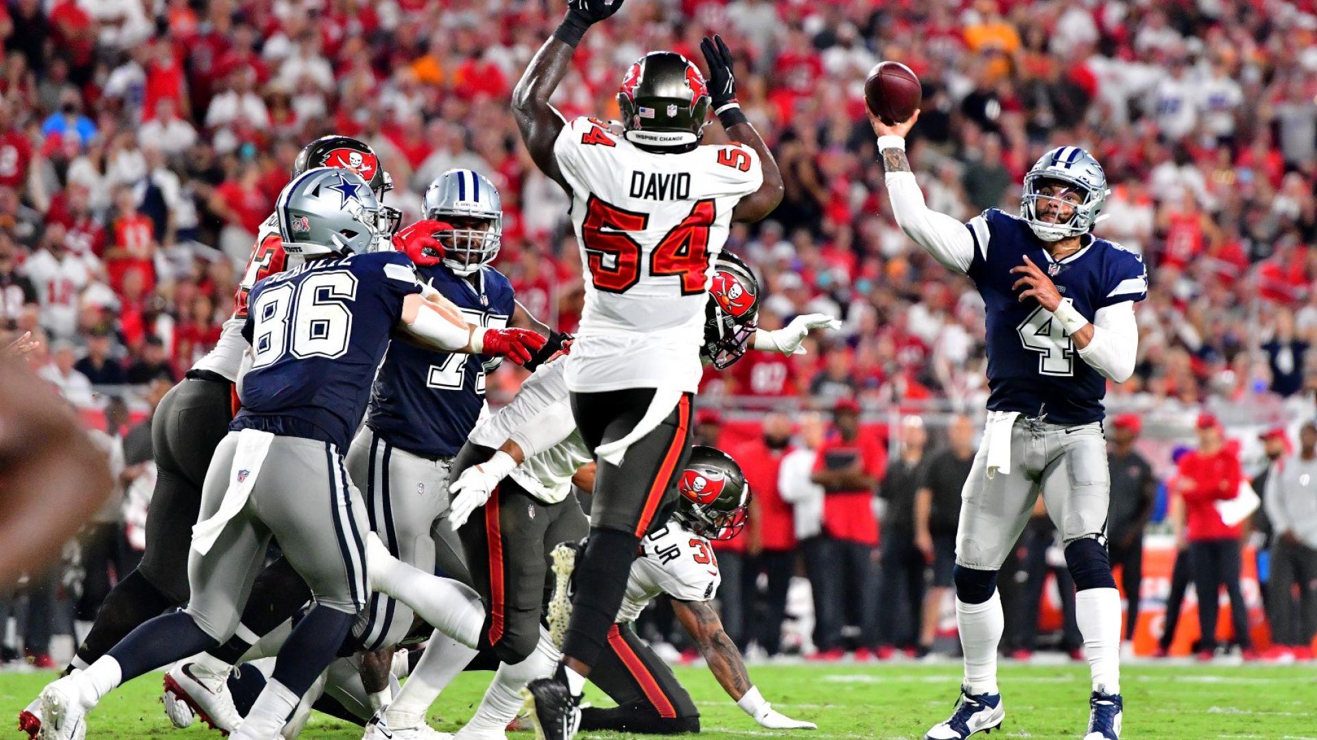 Далас бе на 7 секунди от победа над шампиона на старта на сезона в NFL
