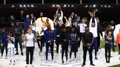 Диамантената лига награди своите шампиони в края на сезона