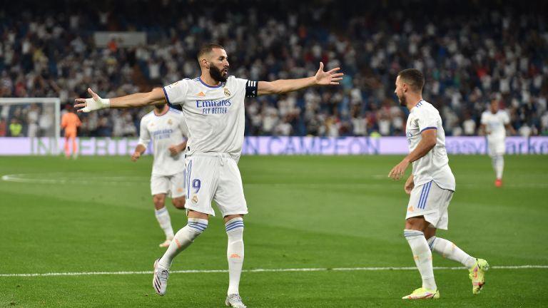 """Реал (Мадрид) се завърна на """"Сантиаго Бернабеу"""" с пет гола"""