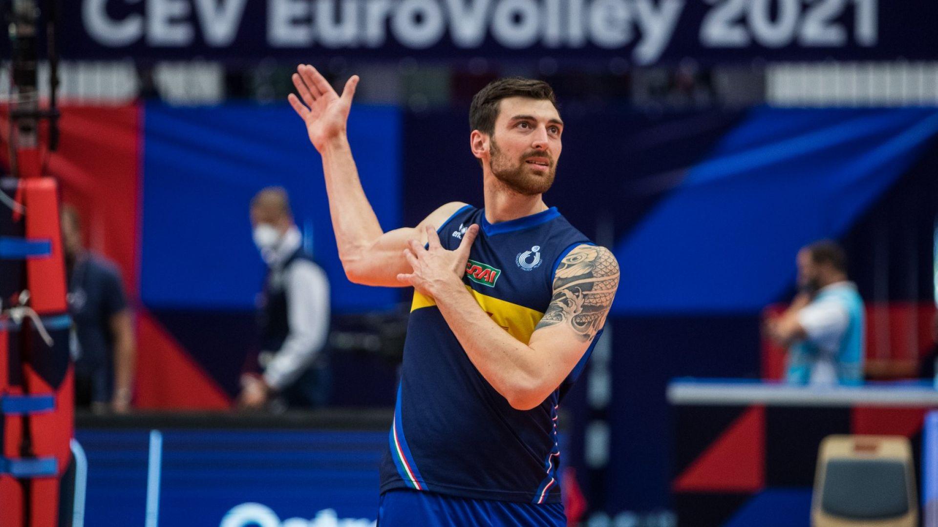 Младостта на Италия срещу опита на Германия в четвъртфинал на Евроволей