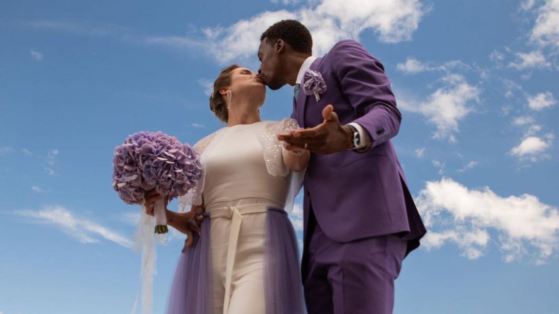 За любовта между две ракети - интервю на младоженците Елина и Гаел