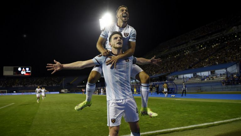 Уест Хям и Лион взеха тежки гостувания за старт в групите на Лига Европа