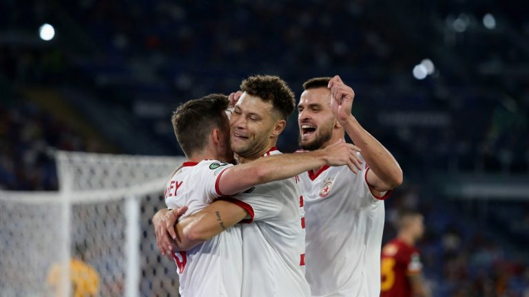 Два гола от мача Рома - ЦСКА с номинации за №1 в Лигата на конференциите