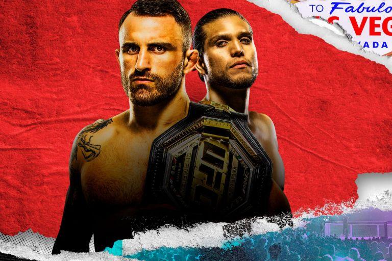 Волкановски и Ортега в една от битките на годината в UFC