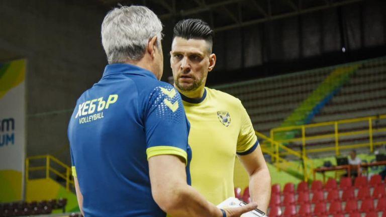 Хебър излиза в нова битка по пътя към групите на Шампионска лига