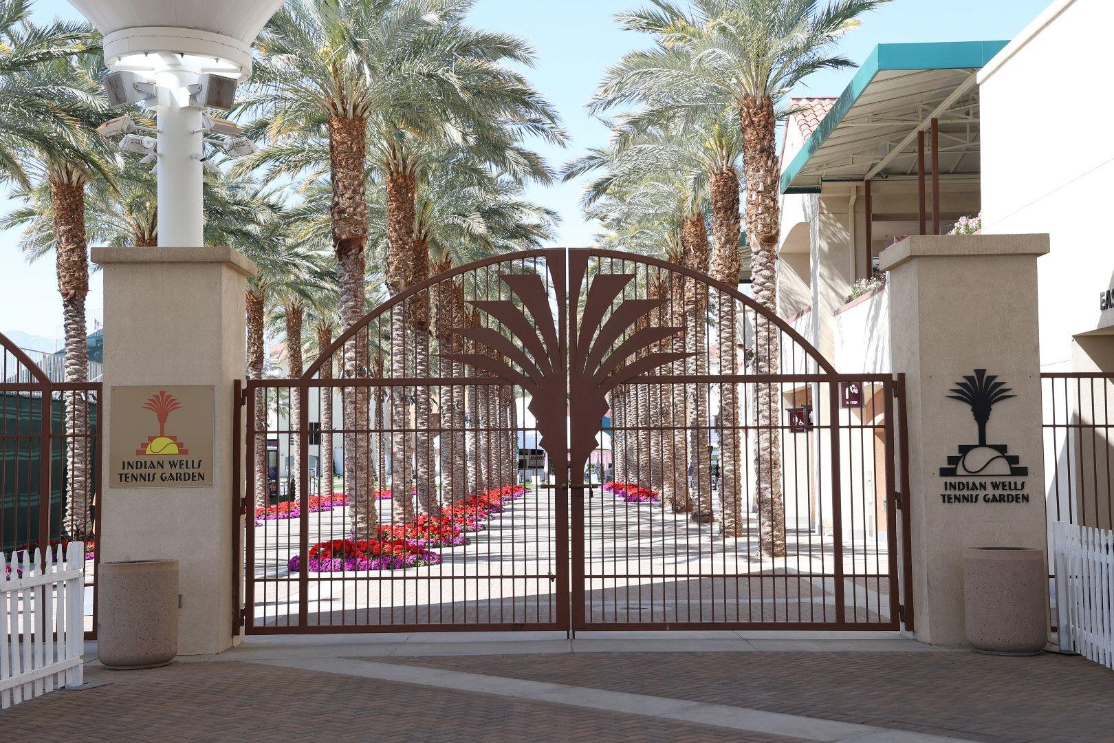 Портите на Indian Wells Tennis Garden - любимият комплекс на тенисистите