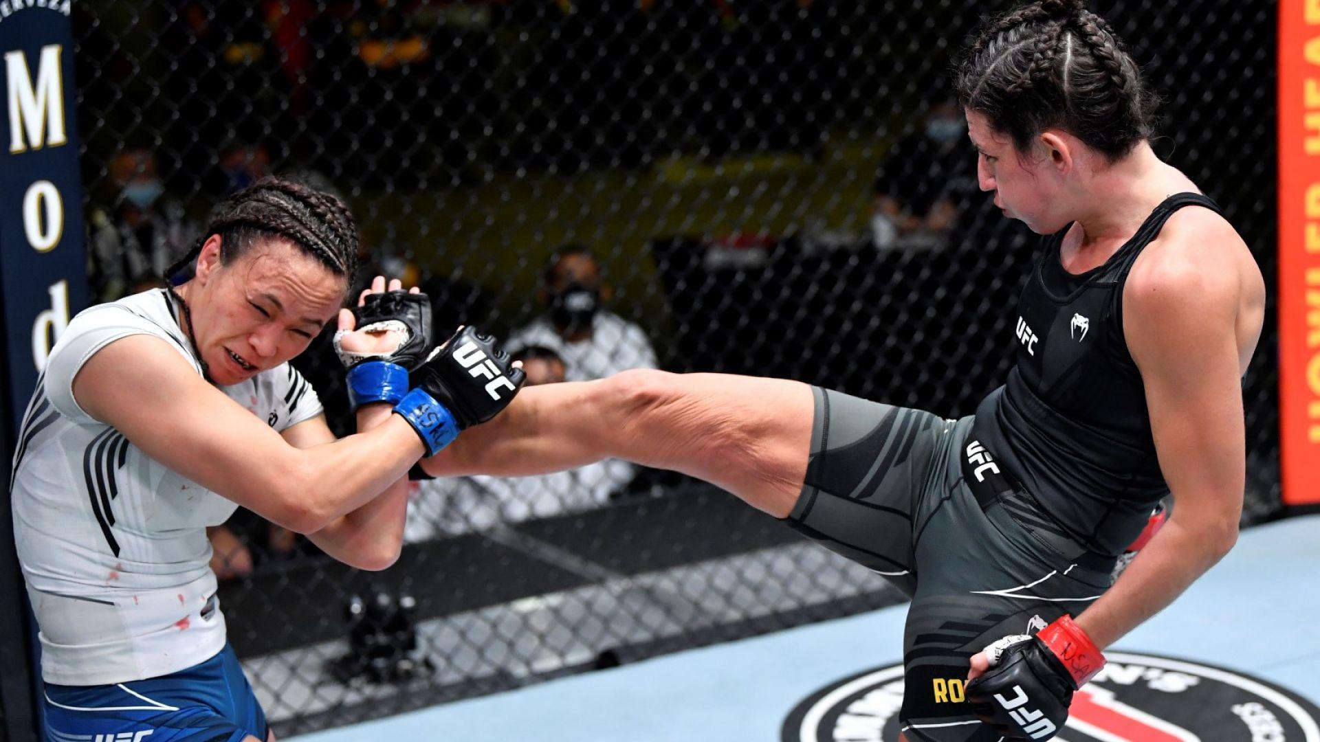 Дамски сблъсък е украсата на вечерта в UFC Fight Night 194